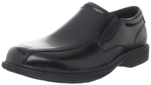 Nunn Bush Men's Bleeker Street Slip On Loafer with KORE Slip Resistant