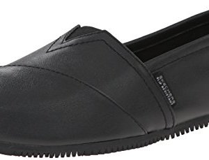 Skechers For Work Women's Kincaid II Slip On Flat w/gore