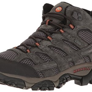 Merrell Men's Moab 2 Mid Waterproof Hiking Boot, Beluga