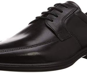 ECCO Men's Minneapolis Apron Toe Tie Oxford Black