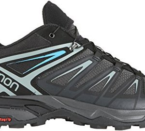 SALOMON X ULTRA 3 MEN'S HIKING SHOES PHANTOM/BLACK/HAWAIIAN