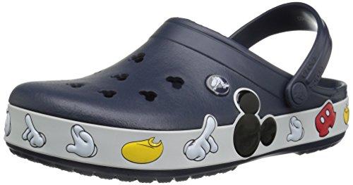 crocs Unisex Crocband Mickey Clog Mule, Multi