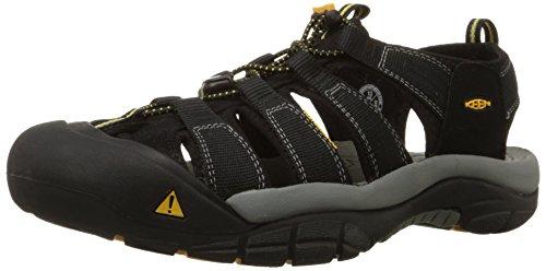 Keen Men's Newport H2 Sandal, Black, 10.5 M US
