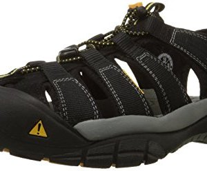 Keen Men's Newport H2 Sandal, Black, 10.5 M US
