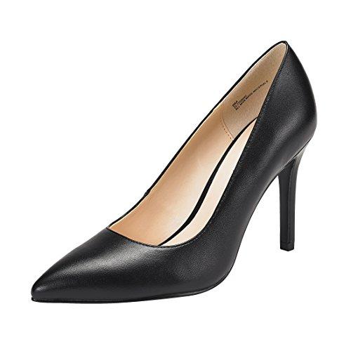 JENN ARDOR Stiletto High Heel Shoes For Women: Pointed, Closed Toe
