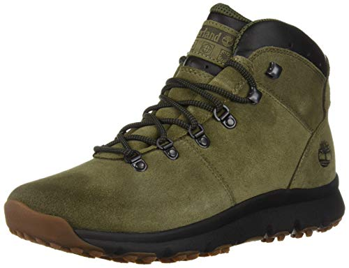 Timberland Men's World Hiker Mid Ankle Boot, Dark Green