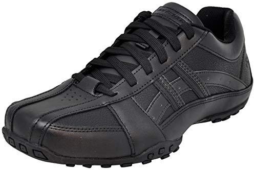 Skechers Men's Citywalk Malton Oxford Sneaker, Triple Black
