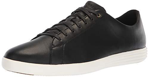 Cole Haan Men's Grand Crosscourt II Sneaker, Black/Optic White