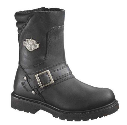 Harley-Davidson Men's Booker Engineer Boot,Black