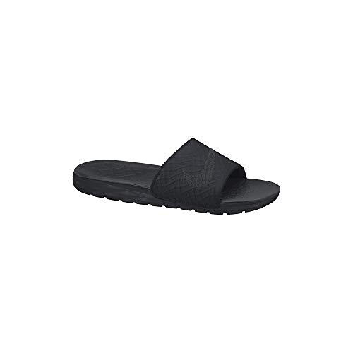 Nike Men's Benassi Solarsoft Slide Sandal Black/Anthracite