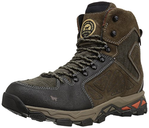 Irish Setter Men's Ravine-2880 Hunting Shoes, Gray/Black, 12 2E US