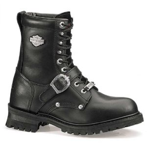 Harley-Davidson Men's Faded Glory Boot,Black
