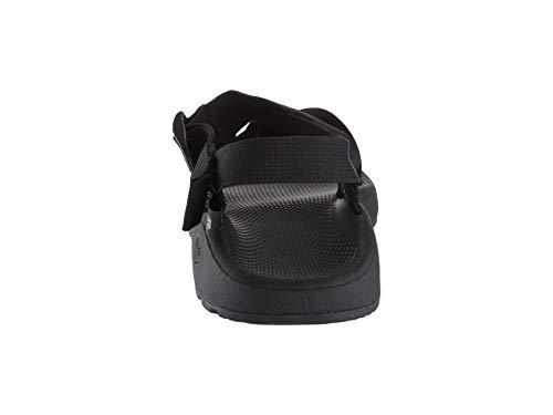 Chaco Men's MEGA Z Cloud Sport Sandal, Solid Black Chaco Men's MEGA Z Cloud Sport Sandal, Solid Black, 9 M US.