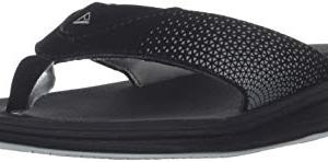 Reef Boys Rover Sandal, Black, Medium