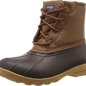 SPERRY Kids Boy's Port Boot (Little Kid/Big Kid) Tan/Brown