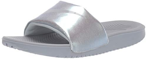 Nike Boys Kawa Slide (GS/PS) Sandal, Wolf Grey/Wolf Grey