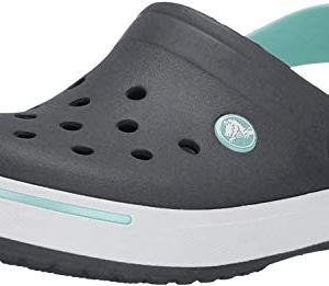 Crocs Kids Crocband II Slip On Clog Navy/Ice Blue