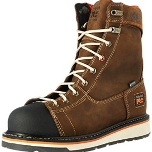 "Timberland PRO Men's Gridworks 8"" Soft Toe Waterproof"