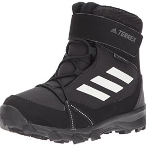 adidas Outdoor Unisex-Kid's Terrex Snow Boot, Black/chalk White/Grey Four