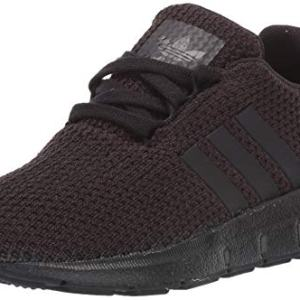 adidas Originals Unisex-Kid's Swift Running Shoe, Black