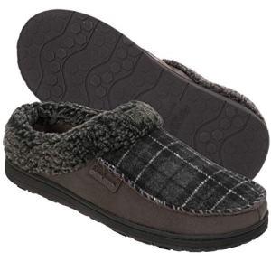 Dearfoams Indoor/Outdoor Men's Clog Slipper
