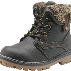 Apakowa New Boy's Winter Martin Boots (Toddler/Little Kid)