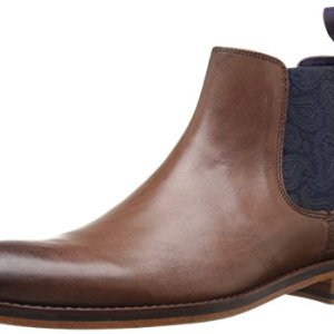 Ted Baker Men's Camroon 4 Chelsea Boot, Brown Leather