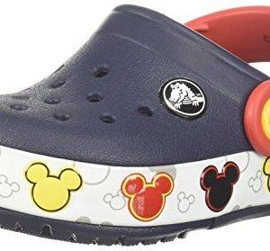 Crocs Unisex Crocband Mickey FnLb Lights K Clog