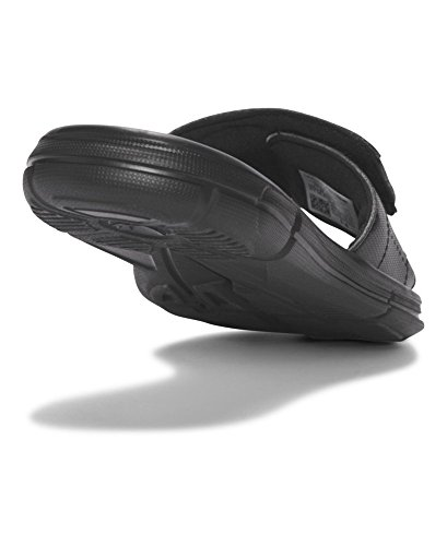 Under Armour Boy's, Ignite V Slide Sandal Black/White Under Armour Boy's, Ignite V Slide Sandal Black/White 5 M.