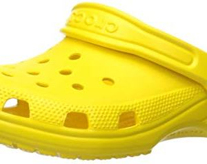 Crocs Unisex-Kid's Classic Clog, Lemon