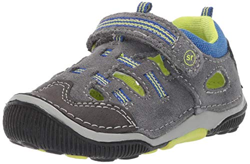 Stride Rite SRTech Reggie Boy's Fisherman Sandal, Grey Multi
