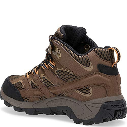 Merrell Boys' Moab 2 MID AC WTRPF Hiking Boot Merrell Boys' Moab 2 MID AC WTRPF Hiking Boot, Earth, 7 M US Big Kid.