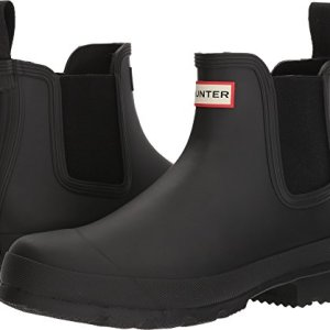 Hunter Men's Original Chelsea Boot Black