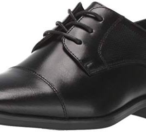 Florsheim Kids Boys' Potenza Jr. Cap Toe Oxford, Black