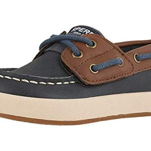 SPERRY Kids Baby Boy's Cruise Boat Jr (Toddler/Little Kid) Navy/Brown