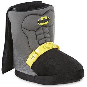 DC Comics Boy's Batman Bootie Slippers