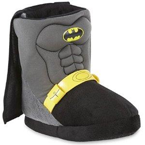 DC Comics Boy's Batman Bootie Slippers