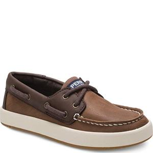 SPERRY Kids Boy's Cruise Boat (Little Kid/Big Kid) Chestnut/Brown