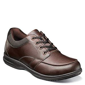 Nunn Bush Men Stefan Food Service Shoe Brown