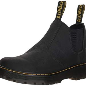 Dr. Martens Men's Hardie Boot, Black, 8 Regular