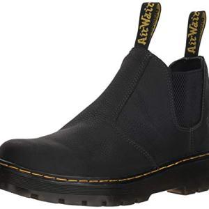 Dr. Martens Men's Hardie Boot, Black, 8 Regular