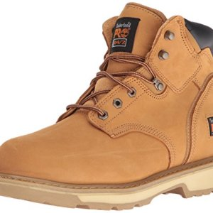 "Timberland PRO Men's Pitboss 6"" Steel-Toe Boot, Wheat"