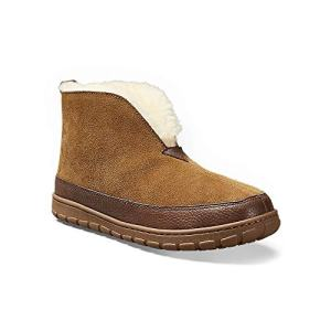 Eddie Bauer Men's Shearling Boot Slipper