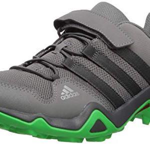 adidas outdoor Kids' Terrex Hiking Boot, Grey Four/Active Green