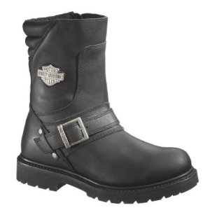 Harley-Davidson Men's Booker Engineer Boot,Black