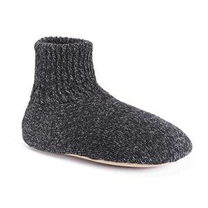 Muk Luks Men's Morty Slippers, black