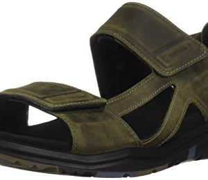ECCO Men's X-Trinsic Sandal Tarmac Leather