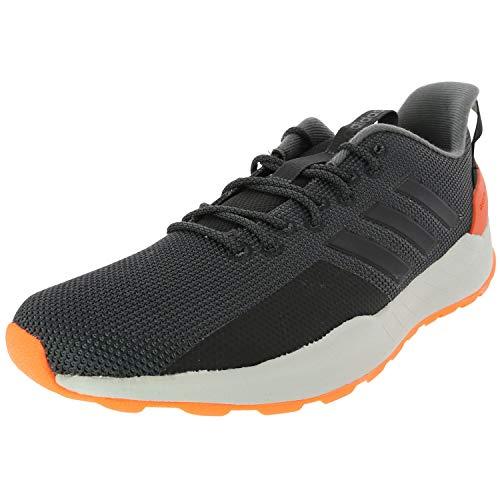 adidas Men's Questar Trail Running Shoe, Carbon/Black/Grey