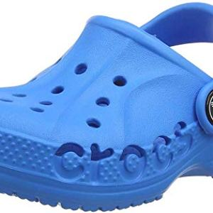 Crocs Kids' Baya Clog |Comfortable Slip On Water Shoe for Toddlers