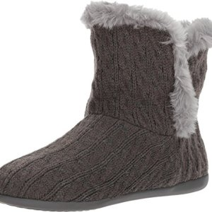 Vionic Kari - Women's Slipper Boot Grey Cable